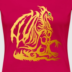 The Gold Dragon T-Shirts - Frauen Premium T-Shirt