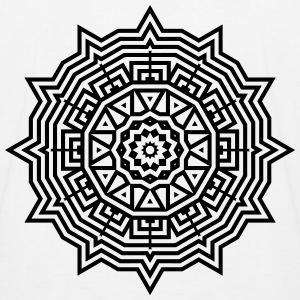 Mandala T-Shirts - Kinder Baseball T-Shirt