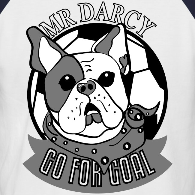 MR DARCY RULES Baseball Shirt Herren