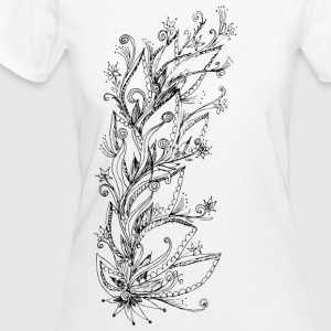Jungle Flower, forest, summer, vacation, beach T-S - Frauen Bio-T-Shirt