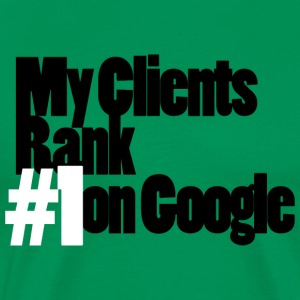 my-clients-ranks-1-on-white Tee shirts - T-shirt Premium Homme