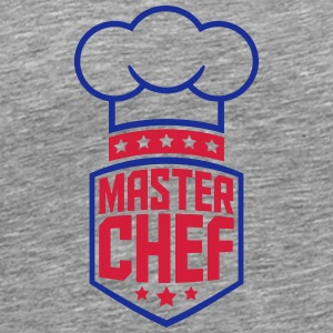 Cool Master Star Chef Logo T-Shirts - Men's Premium T-Shirt