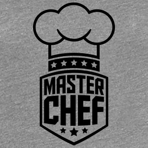 Cool Master Star Chef Logo T-Shirts - Women's Premium T-Shirt