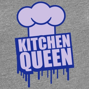 Cool kök Queen Graffiti stämpel T-shirts - Premium-T-shirt dam