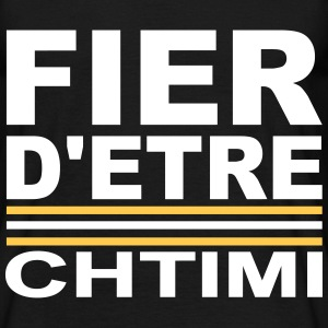 Fier D'ETRE Chtimi Blanc Tee shirts - T-shirt Homme