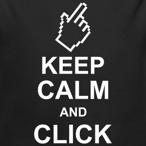 keep_calm_and_click_g1 Hoodies - Longlseeve Baby Bodysuit