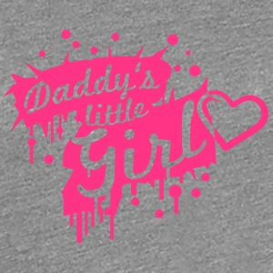 Daddys little Girl Graffiti Design T-Shirts - Frauen Premium T-Shirt