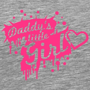 Daddys little Girl Graffiti Design Koszulki - Koszulka męska Premium