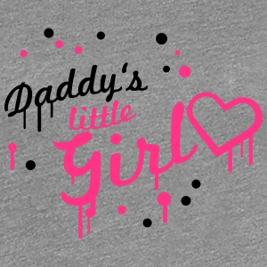 Cool Daddys little Girl Graffiti T-Shirts - Frauen Premium T-Shirt