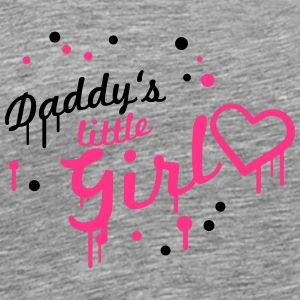 Cool Daddys little Girl Graffiti T-Shirts - Men's Premium T-Shirt