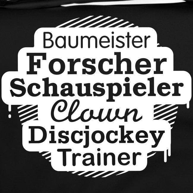 """""""Vielfalt, MANN!""""-Tasche  Motiv Baumeister"""