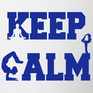 Keep Calm zen Kopper & flasker - Tofarget kopp