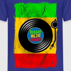 reggae power design 01 T-Shirts - Teenager Premium T-Shirt