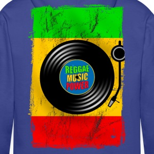 reggae power design 01 Hoodies & Sweatshirts - Men's Premium Hoodie