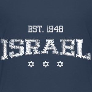 ISRAEL-white Shirts - Teenage Premium T-Shirt