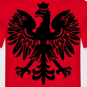 Black Polish Eagle T-Shirts - Men's T-Shirt