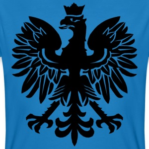 Black Polish Eagle T-Shirts - Men's Organic T-shirt