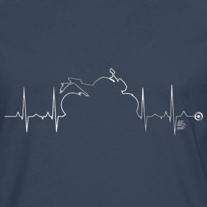 heart bike 4 by CustomStyle Manches longues - T-shirt manches longues Premium Homme