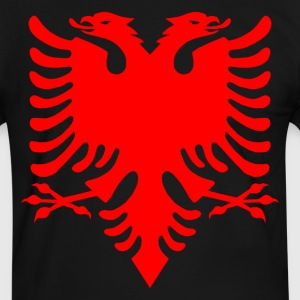 Albanian Eagle Herald Red T-Shirts - Men's Ringer Shirt