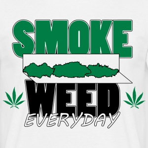 T-shirt Smoke weed rolls - T-shirt Homme