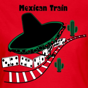 Mexican Train  T-Shirts - Frauen T-Shirt