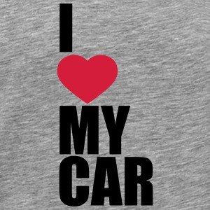 I Love My Car T-Shirts - Männer Premium T-Shirt