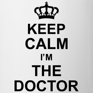keep_calm_i'm_the_doctor_g1 Flessen & bekers - Mok