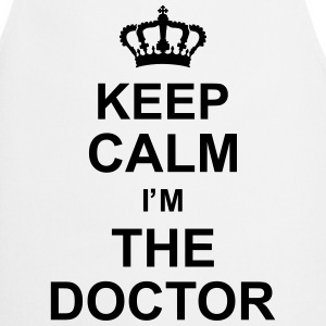 keep_calm_i'm_the_doctor_g1 Forklær - Kokkeforkle