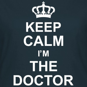 keep_calm_i'm_the_doctor_g1 Camisetas - Camiseta mujer