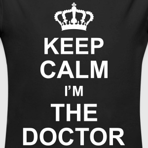 keep_calm_i'm_the_doctor_g1 Sweats - Body bébé bio manches longues