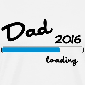 Dad 2016 loading T-skjorter - Premium T-skjorte for menn