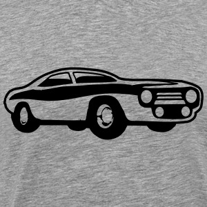 Cool Muscle Car Design T-Shirts - Men's Premium T-Shirt