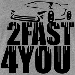 Cool 2 Fast 4 You Logo Graffiti Design T-Shirts - Women's Premium T-Shirt
