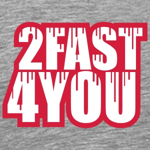 Cool 2 Fast 4 You Logo Graffiti T-Shirts - Men's Premium T-Shirt