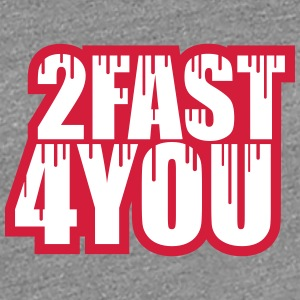 Cool 2 Fast 4 You Logo Graffiti T-Shirts - Women's Premium T-Shirt