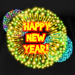 Happy new year! T-Shirts - Frauen Premium T-Shirt