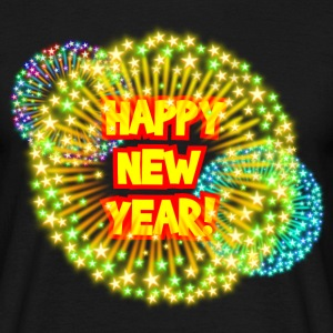 Happy new year! T-Shirts - Männer T-Shirt