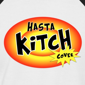 Hasta Kitch cover / noir - T-shirt baseball manches courtes Homme