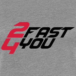 2 Fast 4 You Logo T-Shirts - Women's Premium T-Shirt