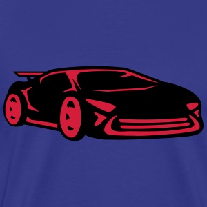 Car racing sports car racing car cool T-Shirts - Men's Premium T-Shirt