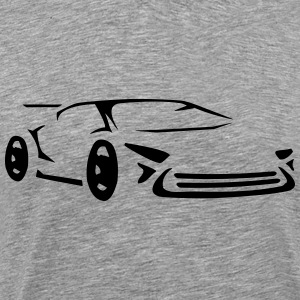 Cool bil racing sportbil racing T-shirts - Premium-T-shirt herr