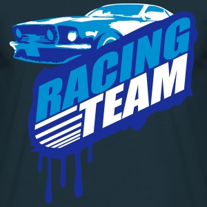 Racing Team Graffiti Stamp T-Shirts - Men's T-Shirt