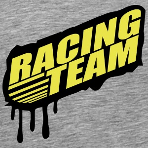 Racing Team Graffiti sello Camisetas - Camiseta premium hombre