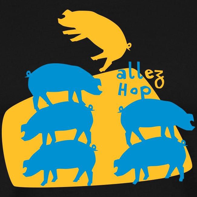 Schweinebande Vektor