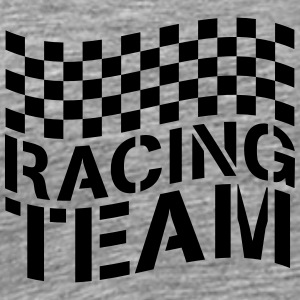 Racing Team Flag Design T-Shirts - Men's Premium T-Shirt