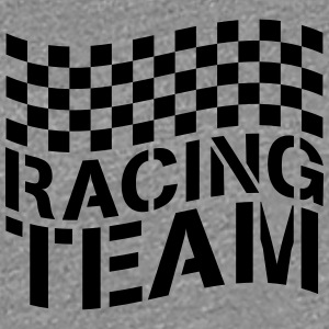 Racing Team flaggan Design T-shirts - Premium-T-shirt dam