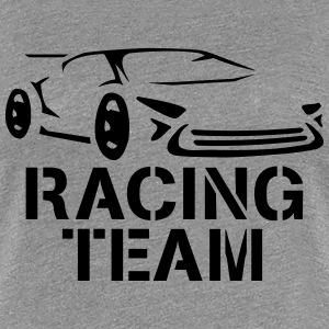Design Team Racing Tee shirts - T-shirt Premium Femme