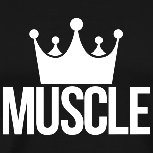 muscle king T-shirts - Mannen Premium T-shirt