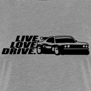 Leven liefde station Tuning auto T-shirts - Vrouwen Premium T-shirt