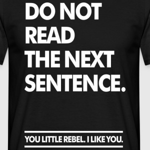 Little Rebel (dark) T-shirts - T-shirt herr